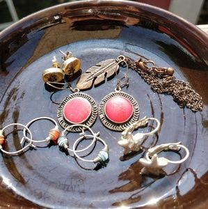 🌸🌼Vintage Boho Gypsy Earring Bundle